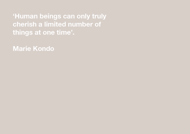 What can experience designers learn from Marie Kondo?