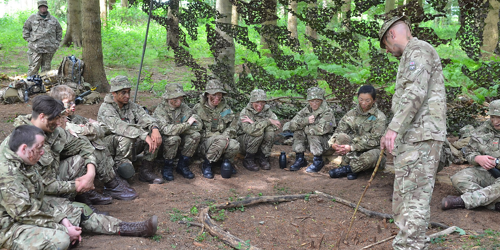 Rescheduled- Spring Skills competition- Army and RAF section (1)