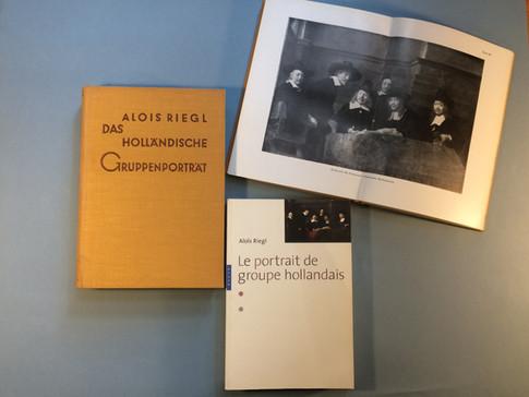 Aloïs Riegl, Le portrait de groupe hollandais