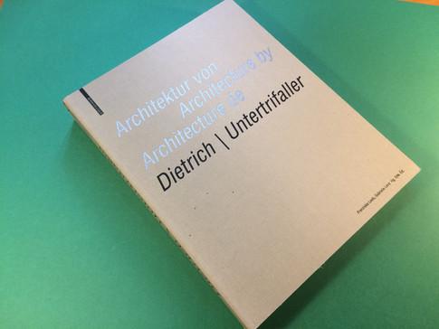 Architecture de Dietrich Untertrifaller