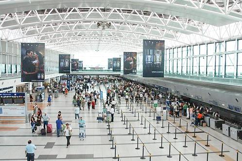 בואנוס איירס - טרסנפר משדה התעופה של פיסטריני (EZEIZA) למלון