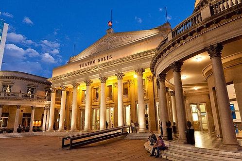 Tour Teatro Solis - Montevideo
