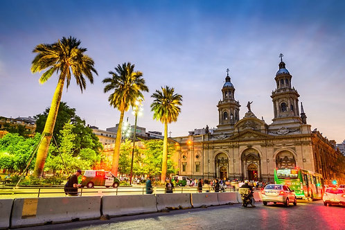 Santiago, Viña del Mar - entretenida ciudad  4 días