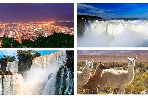 Iguazú & Salta or Viceversa 6 days
