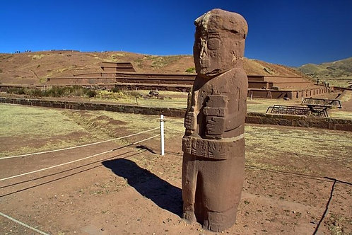 Half day La Paz and Tiwanaku - Bolivia