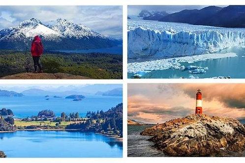 Bariloche - Calafate & Ushuaia 7 días