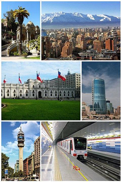 Santiago, ciudad progresiva - 4 días