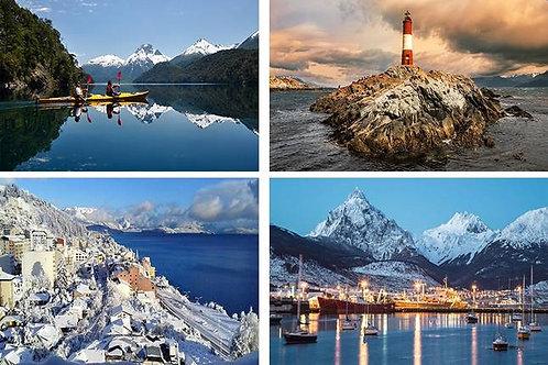 Ushuaia & Bariloche 5 días