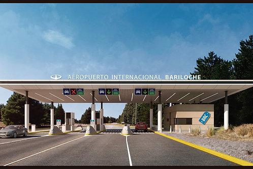 Bariloche - טרסנפר משדה התעופה למלון