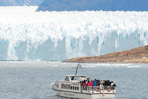 Glaciar Perito Moreno con navegación frente al Glaciar - Calafate