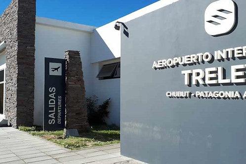 Puerto Madryn - Traslado del Hotel al Aeropuerto de Trelew