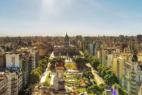 ערים דרום אמריקאיות וג'ונגל בואנוס איירס נהר איגואס מנואס - 15 יום