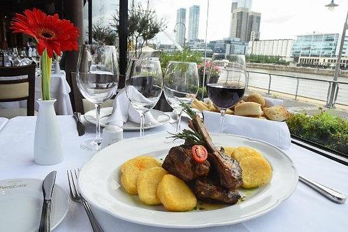 מסעדת פוארטו כריסטל, טעימות יין ברמת Meridaje Alta