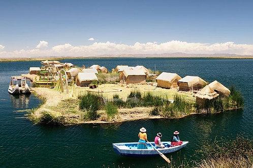 האיים הצפים של אורוס - פונו