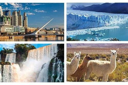 Buenos Aires - Iguazu - Salta - Bariloche - Calafate & Ushuaia 14 días