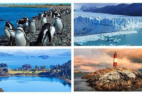 Puerto Madryn - Bariloche - Calafate & Ushuaia 9 días