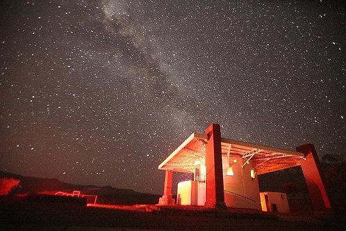 Medio día Observatorio Mamalluca - Ciudad de Vicuña