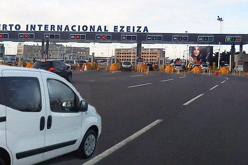 Buenos Aires - Trasnfer desde Hotel al Aeropuerto Pistarini (EZEIZA)