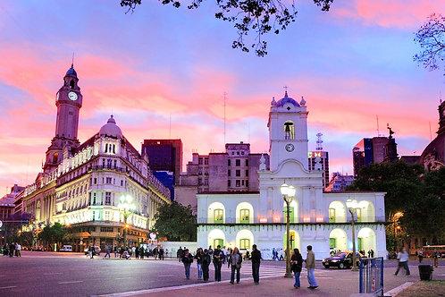 סיור בעיר בואנוס איירס