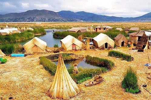 Día Completo Islas Flotantes de Uros y Taquille - Puno