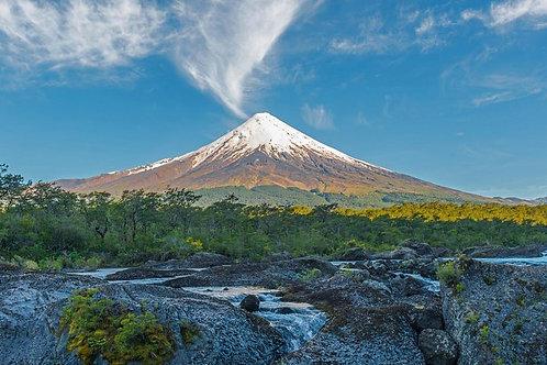 Full day Osorno Volcano and Petrohué Falls