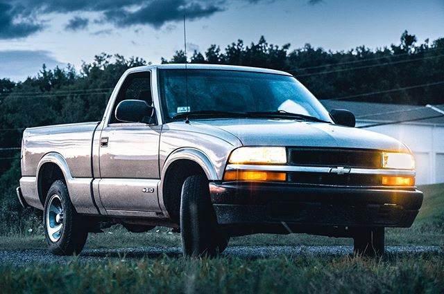 Chevy S10. • • Picture by Michael Gilber