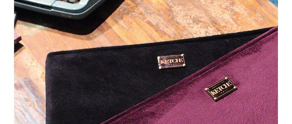 Double Pack - İkili Paket Ketche Handbags Mürdüm&Siyah