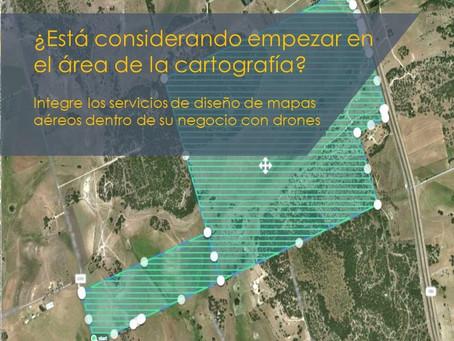 ¿Está considerando empezar en el área de la cartografía?:
