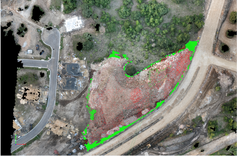 Drone based photogrammetry outputs integrated into GIS and AutoCAD platforms