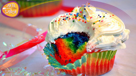 Cupcake Arco-Íris