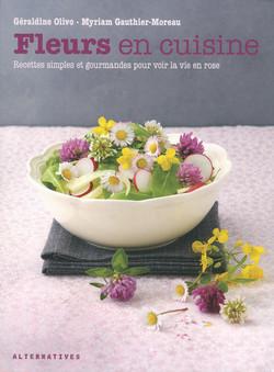 Fleurs en cuisine - Editions Alternatives