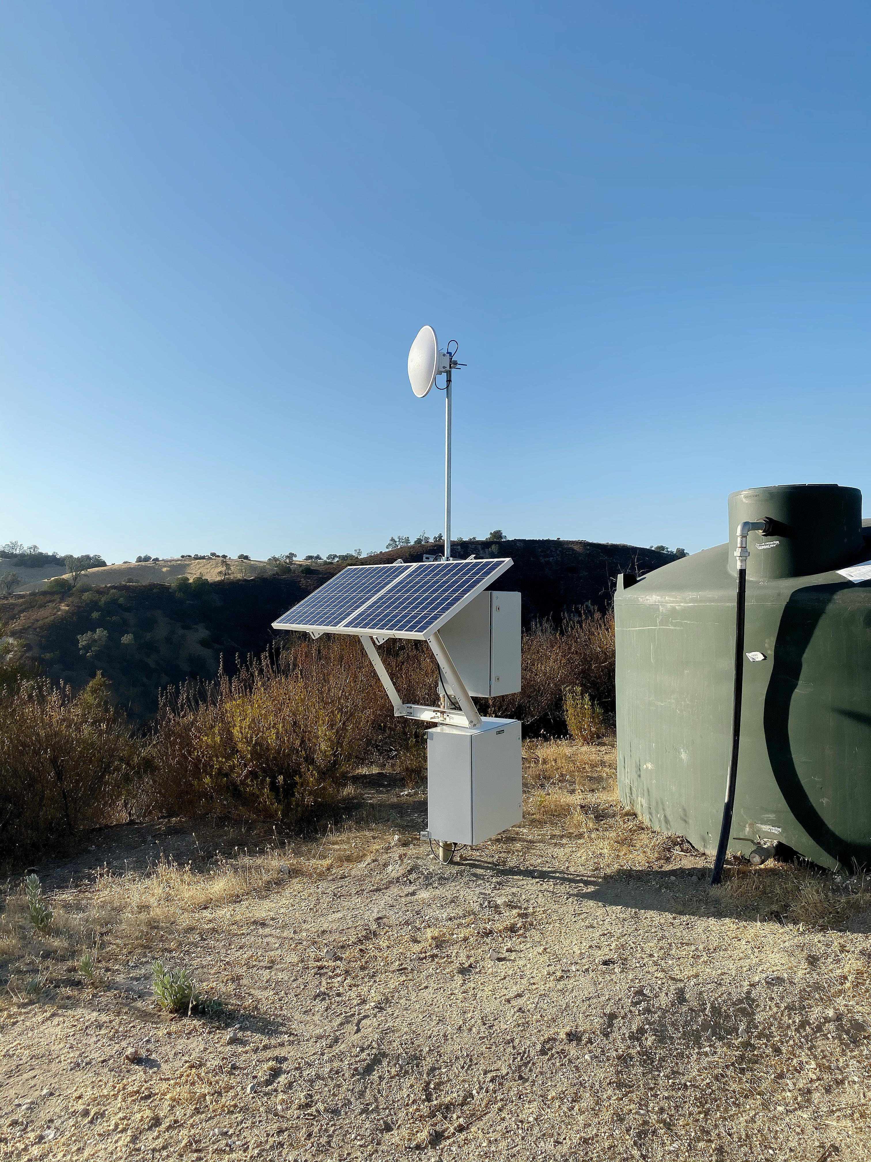 Off-grid Solar RTU