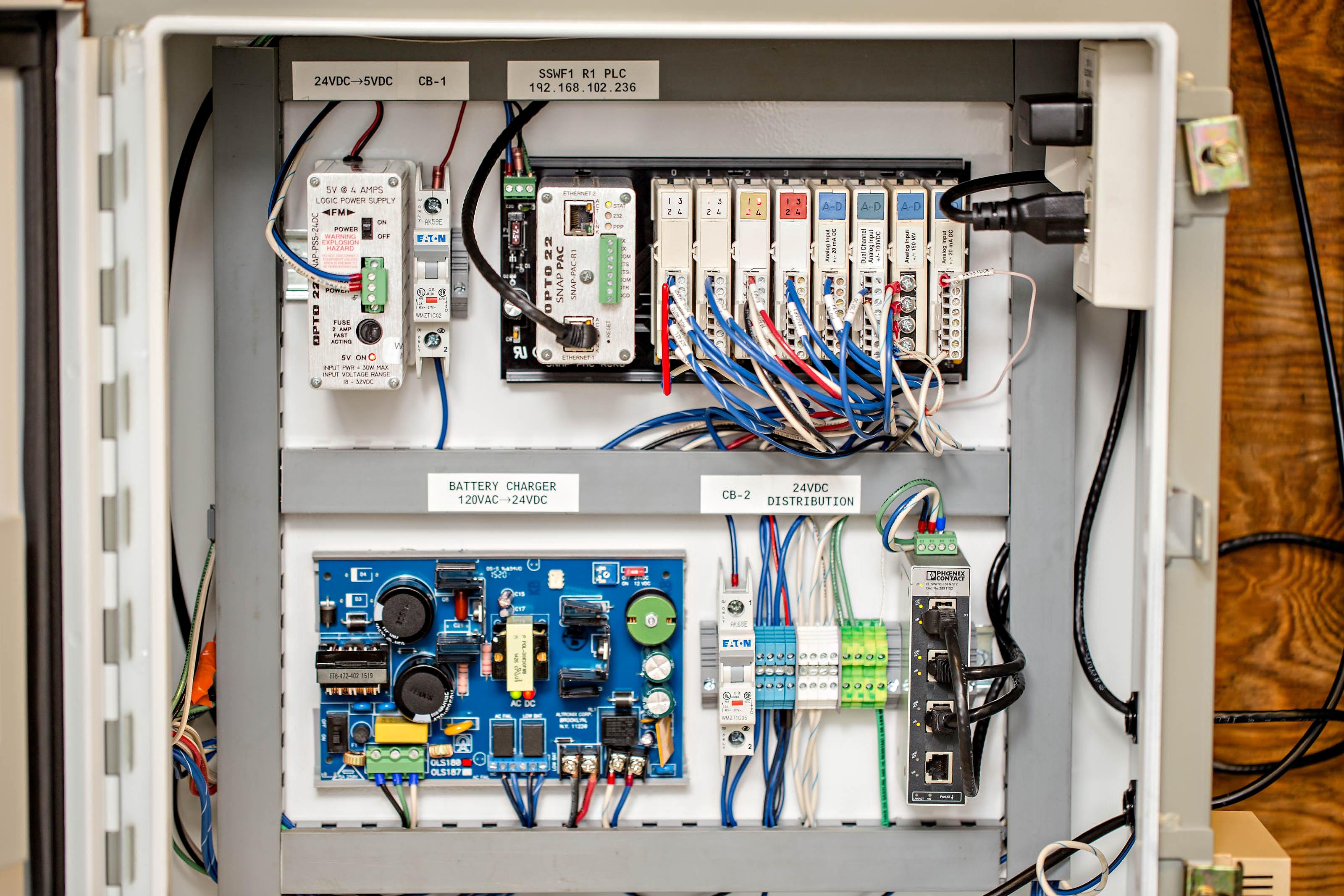 RTU Panel Build