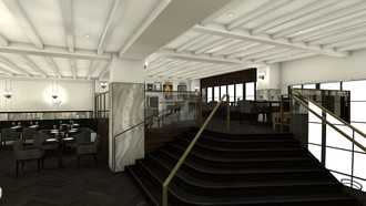 Tredici Enoteca Coming to The St. Gregory Hotel