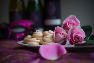 Rosewater Kisses Scented with Cardamom