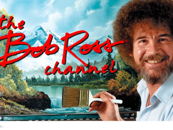 Bob Ross lives on Youtube and Samsung Connected TVs