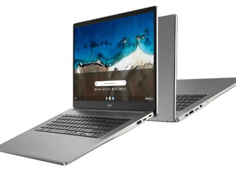 ACER releases new Chromebooks including a 17-inch model