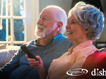 DISH and Independa to help with entertainment and caregiving services for seniors