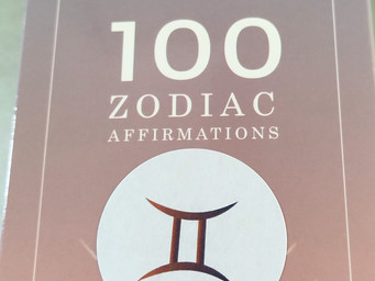 Affirmicious Zodiac Cards can give a needed mental boost