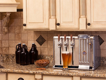 Growlers cold, fresh and ready at home with Growler Chill