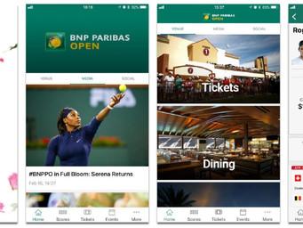 BNP Paribas Open debuts new mobile app