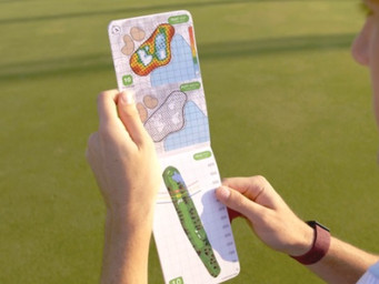 For the golfer on your list: GolfLogix Green Books