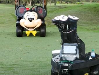 Robo Golf Carts come to Disney World courses