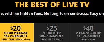 Sling TV: Blue and Orange highlight latest news