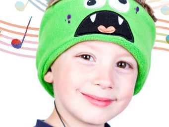 Snuggly Rascals are safe and comfortable headphones for kids