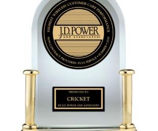 Cricket Wireless wins J.D. Power Award