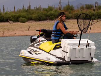 Fishing on your personal water craft is easy with Fishcool
