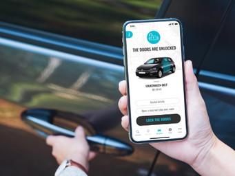 New app boasts 'contactless' car rentals