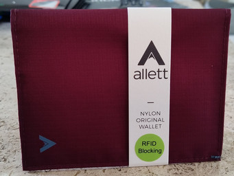 'USA Made' Allett protects your identity and your credit cards