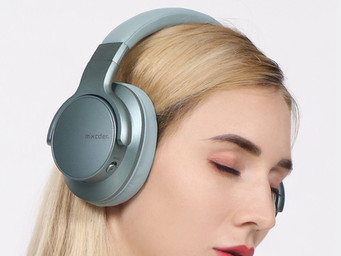 New colors, features for Mixcder E7 Noise Canceling Bluetooth Headphones